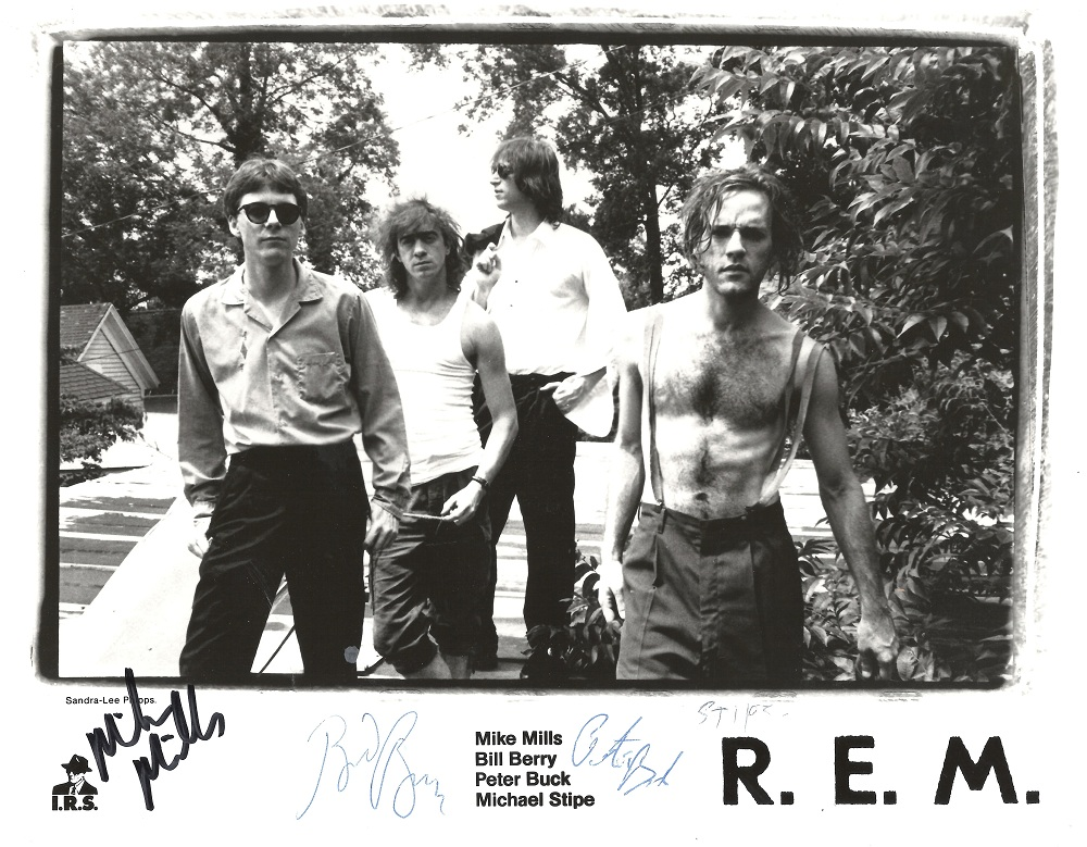 R.E.M. Work Tour Promotional Photo