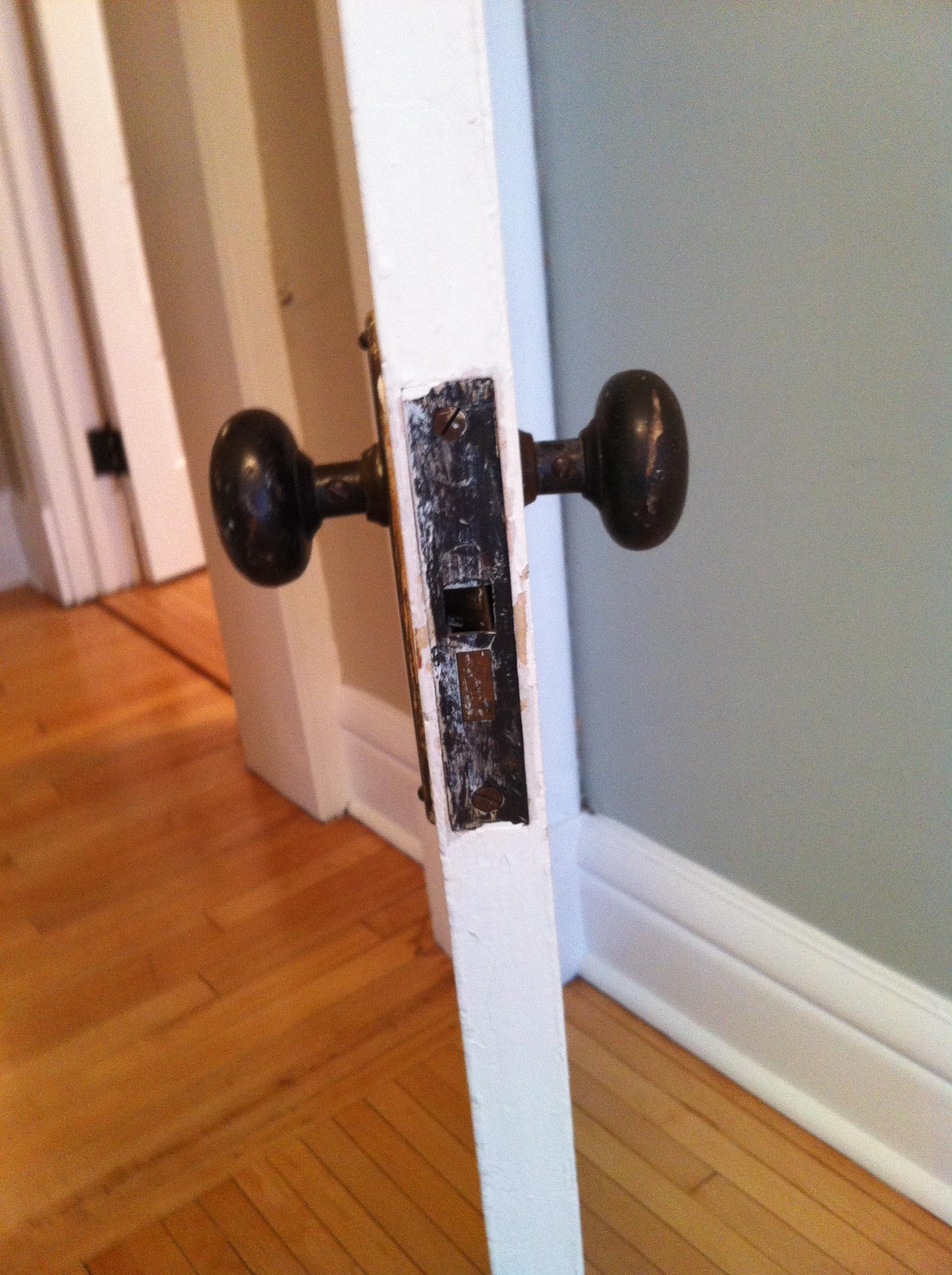 My War Against Painted Door and Window Hardware « Bob Ingrassia